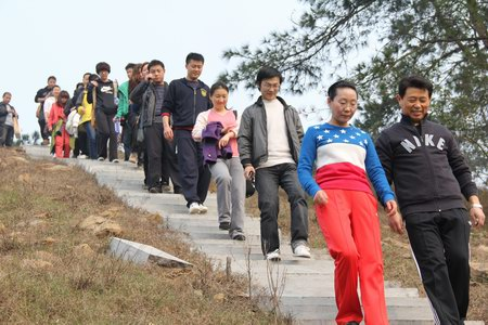 兴鸿翔公司组织员工前往黄家湾秋游